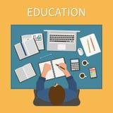 werkplaats Eindeloos onderwijs Opleiding en online Royalty-vrije Stock Afbeelding