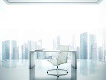 Werkplaats met panorama Royalty-vrije Stock Foto's