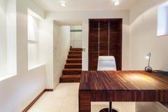 Werkplaats in moderne flat Royalty-vrije Stock Foto's