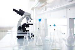 Werkplaats van chemicus Royalty-vrije Stock Afbeeldingen