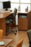 Werkplaats van de manager stock afbeeldingen