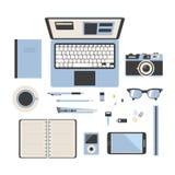 Werkruimteillustratie Royalty-vrije Stock Foto's