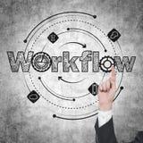 Werkschema Royalty-vrije Stock Afbeeldingen