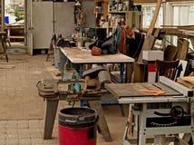 Werkstatt Stockfotografie
