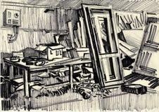 Werkstatt. Stockbilder