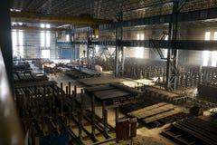 Werkstatt in der Fabrik lizenzfreies stockbild
