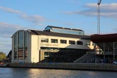 Werkstatt in Fredrikstad Stockbild