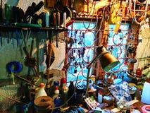 Werkstatt mit dem Werkzeug Stockbild