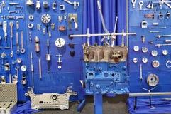 Werkstatt mit Werkzeugen Lizenzfreies Stockbild