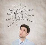 Werktag-Planungskonzept Lizenzfreie Stockfotos
