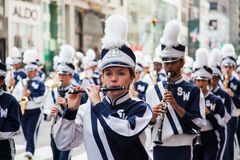 Werktags-Parade in New York Stockbilder