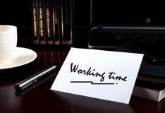 Werktijd royalty-vrije stock foto