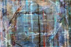 Werktisch des Malers lizenzfreies stockbild