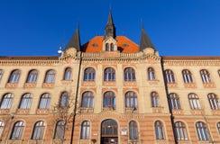 Werktuigbouwschool, Bratislava, Slowakije Stock Foto