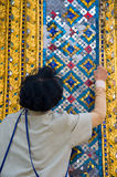 Werktuigkundige in het onderhoud van gebouwen royalty-vrije stock foto's