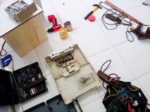 Werkzeug des Handwerkers Lizenzfreie Stockbilder