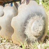 Werkzeug für die Landwirtschaft: Scheibenegge Lizenzfreie Stockbilder