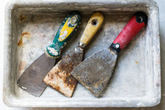 Werkzeug für die Reparatur von Wohnungen Lizenzfreie Stockbilder