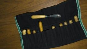 Werkzeug für Woodcarving Lizenzfreies Stockfoto