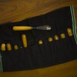 Werkzeug für Woodcarving Stockbild