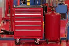 Werkzeug-Kasten Stockfoto