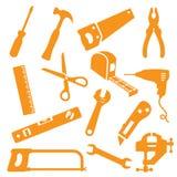 Werkzeug Kit Icons Lizenzfreie Stockfotografie