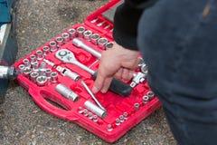 Werkzeugausrüstung stockfotografie