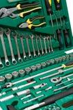 Werkzeugausstattung Lizenzfreies Stockfoto