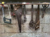 Werkzeuge Lizenzfreies Stockfoto