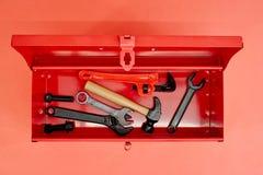 Werkzeuge des Handels stockfoto
