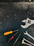Werkzeuge des Handels lizenzfreie stockfotos