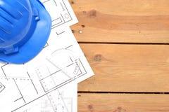 Werkzeuge für Bauzeichnungen Stockfoto