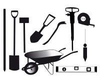 Werkzeuge für das Errichten Vektor Abbildung