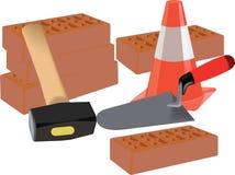 Werkzeuge für das Errichten Lizenzfreies Stockbild