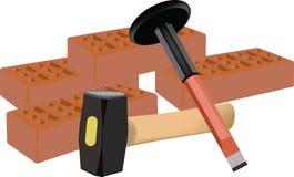 Werkzeuge für das Errichten Lizenzfreie Stockfotos