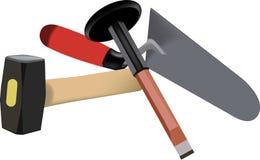 Werkzeuge für das Errichten Lizenzfreies Stockfoto