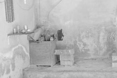 Werkzeuge für die Produktion von den Andenken gemacht vom Onyx Lizenzfreies Stockbild
