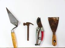 Werkzeuge für Haus Stockbild