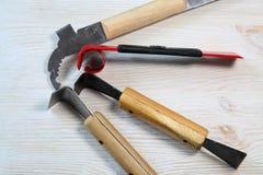 Werkzeuge für Imkerei und Honigzubehör Imkereiausrüstung, ausgelöste neue Werkzeuge Lizenzfreie Stockfotografie