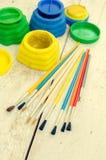 Werkzeuge für kreative Arbeit Stockfoto