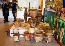 Werkzeuge im Reis gruppieren sich an Ausstellung 2015, Mailand Lizenzfreie Stockfotos