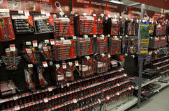 Werkzeuge in Sears Lizenzfreie Stockfotografie