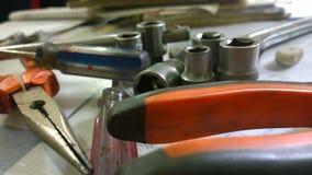 Werkzeuge und Werkzeuge Lizenzfreie Stockfotos