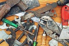 Werkzeuge und Ausrüstung lizenzfreies stockbild