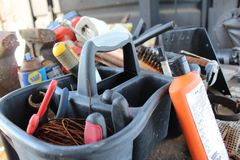 Werkzeughalter Stockbild