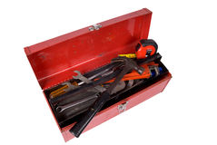 Werkzeugkasten geöffnet Stockfotos