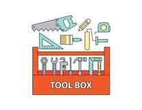 Werkzeugkasten, Vektor Stockbilder
