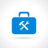 Werkzeugkastenikone Lizenzfreie Stockfotos