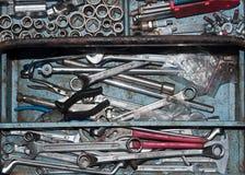 Werkzeugkastennahaufnahme Stockbild