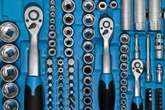 Werkzeugkastensatz Stockbild